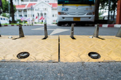 Verkehrssteuerungssperre Lizenzfreies Stockfoto