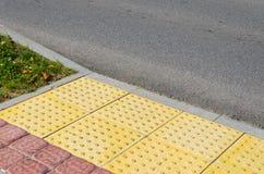 Verkehrsweg für blinde Völker Lizenzfreie Stockfotos