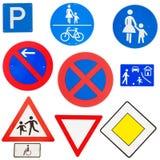 Verkehrszeichen Lizenzfreie Stockfotos