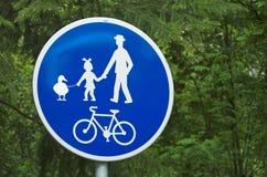 Verkehrszeichen - Stimmung Stockfoto