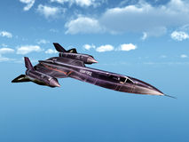 Verkenningsvliegtuigen Royalty-vrije Stock Afbeelding