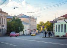 Verkhnyaya Radishchevskaya street Stock Photos