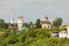 Verkhotursky克里姆林宫, Troitsky大教堂 Verkhoturye市 俄国 免版税图库摄影