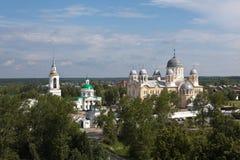 Verkhotursky St. Nicholas Monastery. Sverdlovsk region. Russia. Stock Image