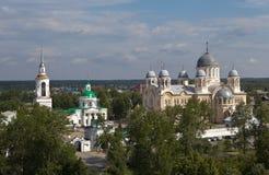 Verkhotursky St. Nicholas Monastery. Sverdlovsk region. Russia. Stock Photo