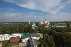 Verkhotursky St. Nicholas Monastery. Sverdlovsk region. Russia. Stock Photos