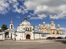 VERKHOTURYE, RUSSIA - JUNE 18, 2016: Photo of St. Nicholas monastery. Royalty Free Stock Photo