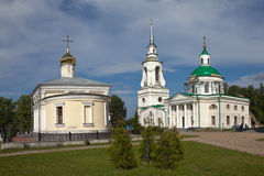 Verkhoturye. Transfiguration Church and St. Nicholas. Royalty Free Stock Images
