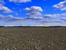 Verkhoyansk berg Royaltyfria Bilder