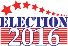 Verkiezing 2016 Royalty-vrije Stock Afbeeldingen