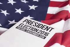 Verkiezing 2016 Royalty-vrije Stock Fotografie