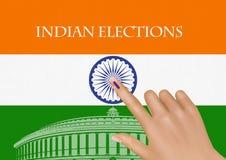 Verkiezing India royalty-vrije stock fotografie