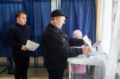 Verkiezingen aan de Douma van de Staat van Russische Federatie 18 September 2016 in het Kaluga-gebied royalty-vrije stock afbeeldingen