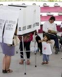Verkiezingen in Mexico Stock Foto's