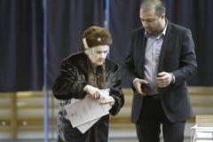 Verkiezingen Roemenië royalty-vrije stock fotografie