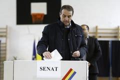 Verkiezingen Roemenië Stock Foto's