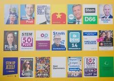 Verkiezingen van Maart 2017 - Den Haag Royalty-vrije Stock Afbeeldingen