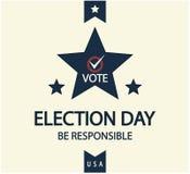 Verkiezingsdag Stock Afbeeldingen