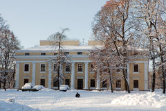 Verkiu palace in Vilnius Royalty Free Stock Photography