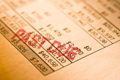 Verklaring over tijd Royalty-vrije Stock Fotografie