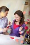 Verklaring van liefde Royalty-vrije Stock Fotografie
