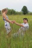 Verklaring van liefde Royalty-vrije Stock Foto
