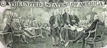 Verklaring van onafhankelijkheid vector illustratie