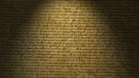 Verklaring van onafhankelijkheid royalty-vrije illustratie