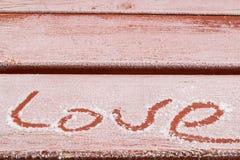 Verklaringen van liefde overal Royalty-vrije Stock Afbeelding