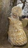 Verkleidete Person - venetianischer Karneval 2014 Annecys lizenzfreies stockfoto