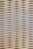 Verklig åtlöje 3d upp tapeten och bakgrund som bambu- och trämodellkorg royaltyfri foto