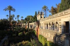 Verklig Alcazar, Sevilla royaltyfri bild
