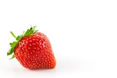 Verklig jordgubbe Fotografering för Bildbyråer