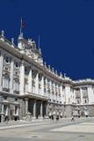 verklig madrid palacio Arkivbild