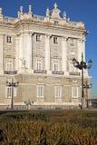 verklig madrid palacio Arkivbilder