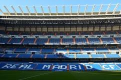 Verklig Madrid stadion - Spanien Arkivfoto