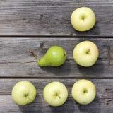 Verklig och användbar frukt Arkivfoto