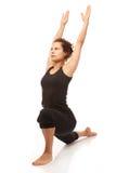 Verklig yogainstruktör Arkivbilder