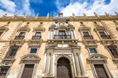 Verkliga Chancilleria Granada Royaltyfri Fotografi