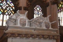 Verkliga gravvalv på kloster av Santa Maria Vitoria, Royaltyfria Foton