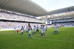 Verkliga Oviedo - Somozas Fotografering för Bildbyråer