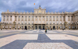 Verkliga Palacio, Madrid, Spanien Royaltyfria Foton