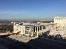 Verkliga Palacio, Madrid, Spanien Royaltyfri Foto