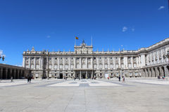 Verkliga Palacio, Royal Palace, Madrid, Spanien Fotografering för Bildbyråer