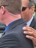 VERKLIGA presidentens säkerhetstjänstmedel, CIA, nationell säkerhet Fotografering för Bildbyråer