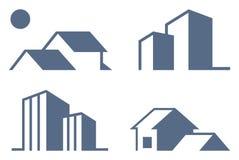 verkliga symboler för gods vektor illustrationer