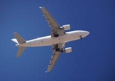 verkligt flygplan arkivbilder