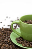verkligt kaffe Arkivfoton