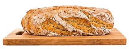 Verkligt lantligt bröd Arkivfoto