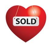 verkocht Stock Fotografie